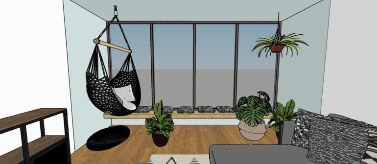איך לתכנן בבית מרפסת אם אין לכם מרפסת?